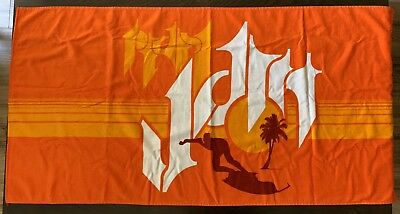 PEARL JAM Towel - Brad Klausen Artwork - BRAND NEW