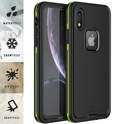 For Apple iPhone XR Case Life Waterproof Dropproof Dirtproof Snowproof 5 Colors