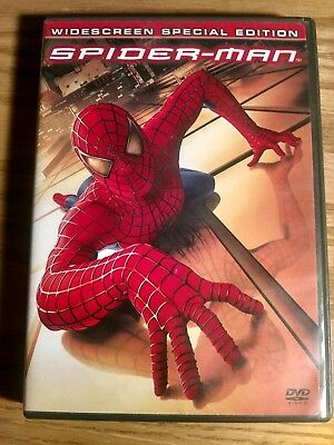 Spider-man 2002 DVD Widescreen Special Edition 2 disc