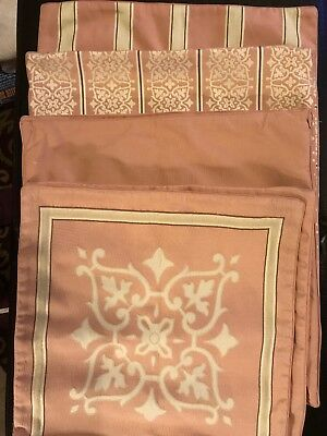 Restoration Hardware Pillow Covers LOT Of 8 Dusty Rose Pink Square 19.5x19.5