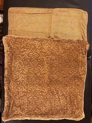 Restoration Hardware Pillow Covers Shams Lot Of 2 Gold