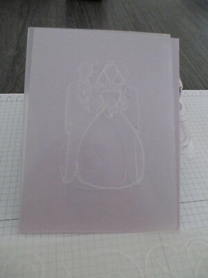 Darice Embossing Folder Bridal Couple
