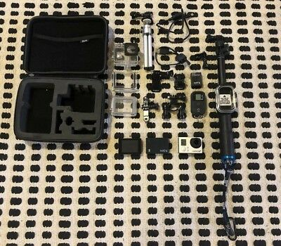 GoPro HERO3+ Black Edition Camcorder With Accessories