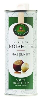 Lapalisse French 100% Pure Hazelnut Oil 500ml, The Finest Product