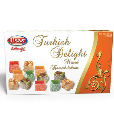 Usas Real Turkish Delight Mixed 350g