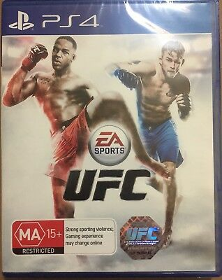 UFC Playstation 4 PS4 Game BRAND NEW UNOPENED