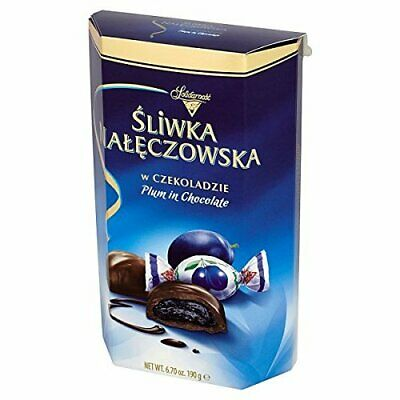 Solidarnosc Plums in Chocolate Gift Box 190g