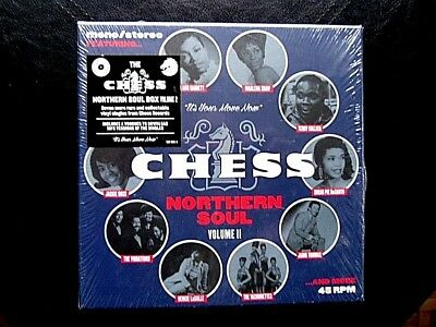 "Chess Northern Soul Vol 2  - 7 x 7"" Vinyl Limited & Numbered Box Set SEALED"