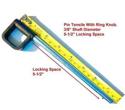 "Pin 3//8/"" Dia 5-1//2/"" LockingUniversal Fitness Eqpt Weight Stack Selector KEY"