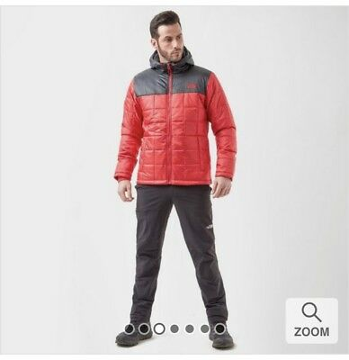 779db181764a Mens The North Face Exhale Insulated Jacket/Red and Black/Winter Coat/LARGE