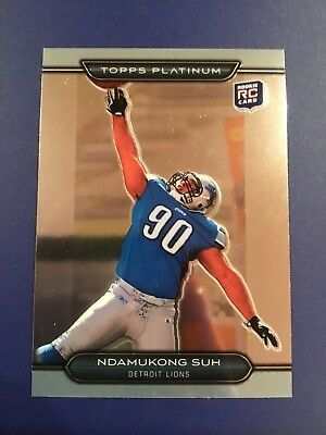 ... FOOTBALL JERSEY Size L.  14.99 Buy It Now 29d 17h. See Details. 2010  Topps Platinum  107 NDAMUKONG SUH Rookie RC Detroit Lions 1c5b11164