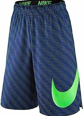 7a3824ed5842 New Nike Fly Sonic Men s Dri Fit Training Shorts Blue green Size L 848790  455