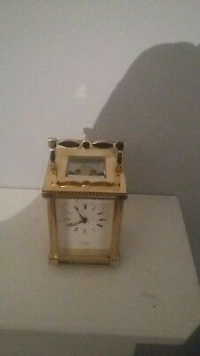 St James London carriage clock in good working order