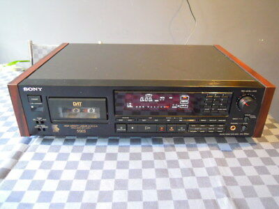 Sony Dtc-55 Es Dat Recorder Perfect Serviced Boxed Digital Audio Deck