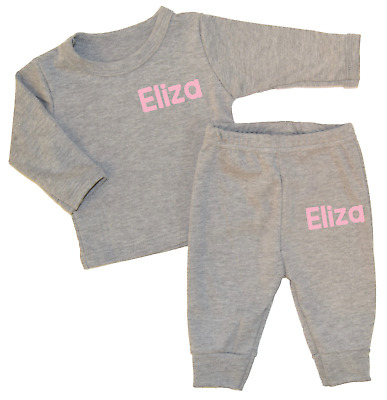 Personalised Standard Name Lounge Set Baby Tracksuit Baby Gifts Newborn