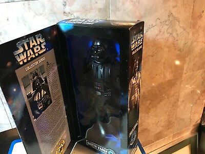 "Star Wars Collector Series Darth Vader 12"" Figure Nib Kenner 1996-G-93"