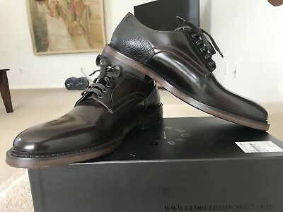GEORGE BROWN BILT Fulton Derby Oxford Wingtip Made In Italy