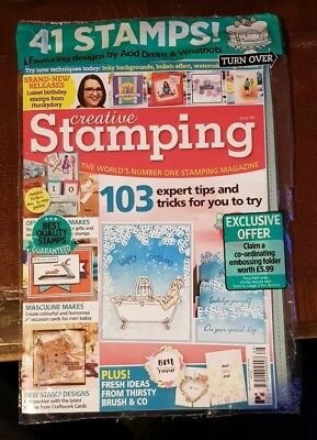 Creative Stamping Magazine 66 with New Year New You Stamps