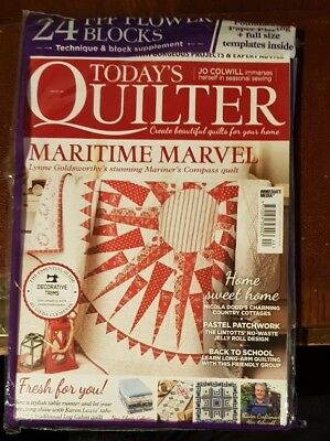 Today's Quilter Magazine #44 ~ With Gifts ~ New ~
