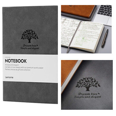 DOTTED Leather Notebook Lemome Medium Size A5 Bullet Journal Premium writing