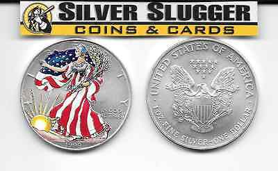 (1) 1999 Colorized  American Silver Eagle 1 oz