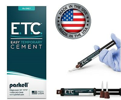 Parkell - E.T.C.™ Easy Temporary Cement - 5ml automix syringe + 10 Tips