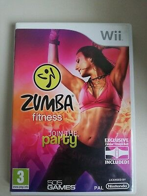 "Nintendo WII Spiel ""ZUMBA Fitness Join the Party"""