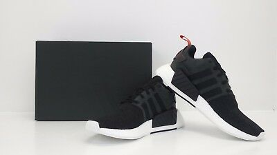 c0f0adbe5 Adidas Originals Men s NMD R2 Nomad Runner Black White CG3384 - BRAND NEW  IN BOX