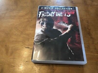 Friday the 13th: The Ultimate Collection DVD*Paramount*8-Disc*Part 1-8*Jason*
