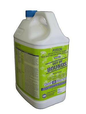 Out of Bounds Bifenthrin 100gm/L 5 Litre Insect Termiticide Barmac Spray