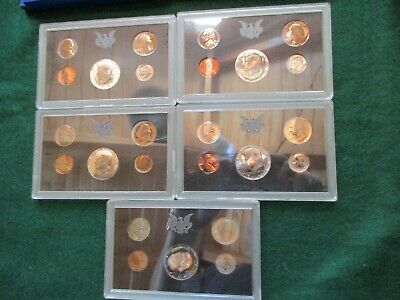 1970-S, 5-Coin Proof Set, In U.s. Mint Packaging, Half$ 40% Silver,  Day-03071