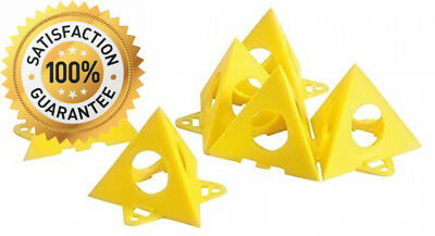 Kraftmann 85210 Axle Pyramids, for Painting, Pack of 10