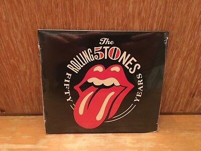 THE ROLLING STONES - Fifty Years 2CD Live Crystal Head Vodka Promo Sealed NEW