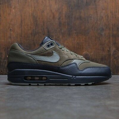 NIKE AIR MAX Dark Teal Blue Fabric Bubble Casual Trainers Mens Size UK 11 48260