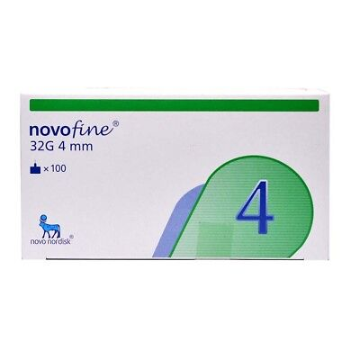Novofine 32G Tip  X 4 Mm 100 Needles- Do Not Miss, Can`t Find Easily - Fast Dlvr