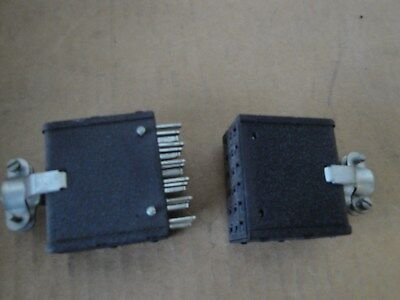 Pair Cinch Jones P318CCT-S318CCT 18 Pin Male and Female Connector
