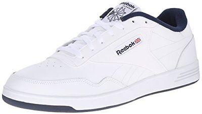 Reebok Club Memt 4E Wide White Collegiate Navy V70690 4E Mens Us Sizes