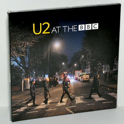 U2 Live at The BBC London England 16Nov2017 Promo Tour CD+DVD Digipak Box