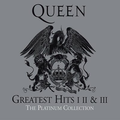 The Platinum Collection - Greatest Hits I, II & III - QUEEN [3x CD]