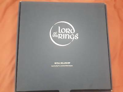 Lord of the Rings / War of the Rings Royal Selangor Chess Set and board Rare