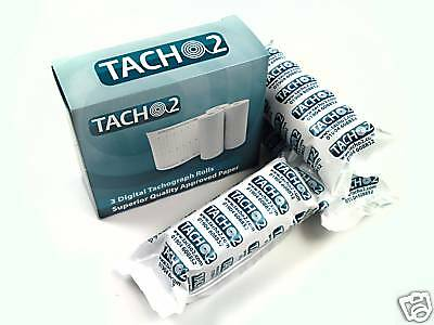 TACHO2 - 20 BOXES Digital Tachograph Rolls - (60 rolls) - UK MANUFACTURER