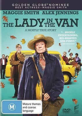 The Lady In The Van (DVD)  Maggie Smith - Region 4 - Very Good Condition