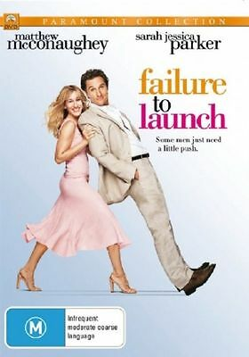 Failure To Launch (DVD, 2006) Region 4 Brand NEW & Sealed with Free Postage