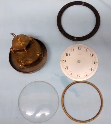 French clock movement spares or repair.