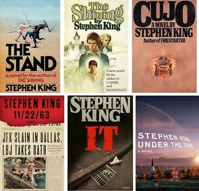 6 eb00ks Stephen King It Cujo Stand 112263 Under the Dome Shining @Epub E-mailed