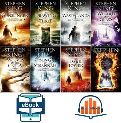 Stephen King: The Dark Tower Series: all in 1set (e-b00k+audiob00k - emailed)