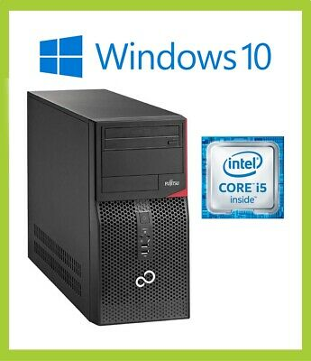 Fast Cheap Fujitsu Esprimo P556/E85 MT PC | Quad i5 6th Gen 6400 | 4GB | 500GB