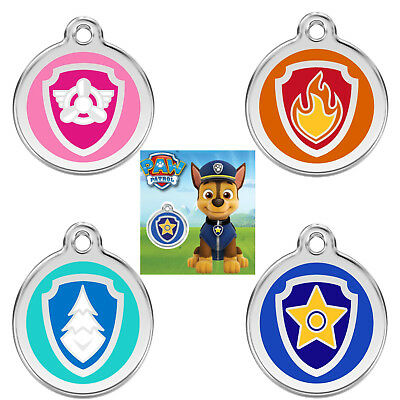 Paw Patrol Dog / Cat Tags / Childs Keyring - Guaranteed For Life & Engraved