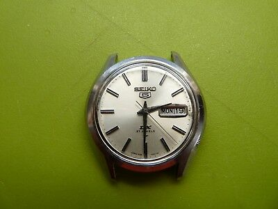 Vintage Seiko 5 DX 5139-7020 October 1967 27 Jewels Automatic watch.