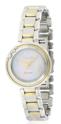 Citizen Eco-Drive L Carina Two-Tone Ladies Watch EM0464-59D